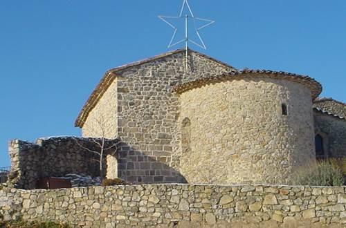 chapelle romane Ste croix de C. ©