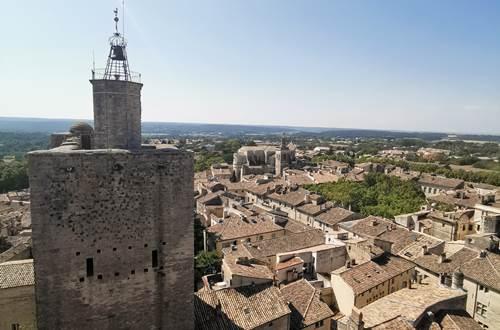 Visites guidées du centre historique d'Uzès © © Destination Pays d'Uzès Pont du Gard