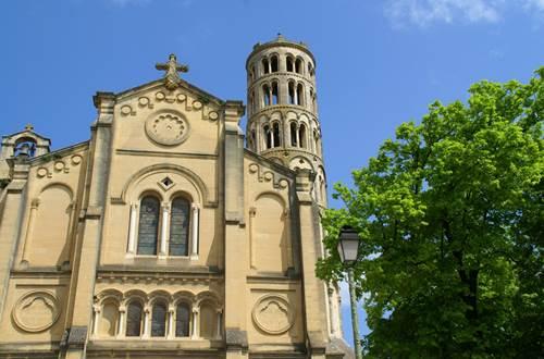 Uzès - Cathédrale et Tour Fenestrelle ©