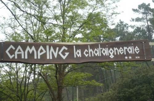 Camping La Châtaigneraie ©