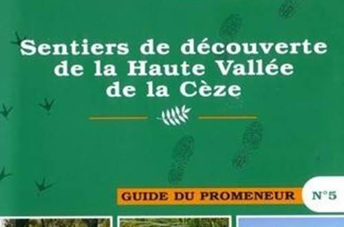 Topoguide Haute Vallée de la Cèze ©