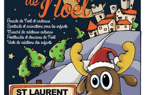marché de Noël Saint-Laurent-des-Arbres ©