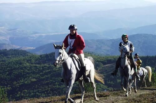 Le célèbre Raid des 160km de Florac passe au sommet du Mont Aigoual ©