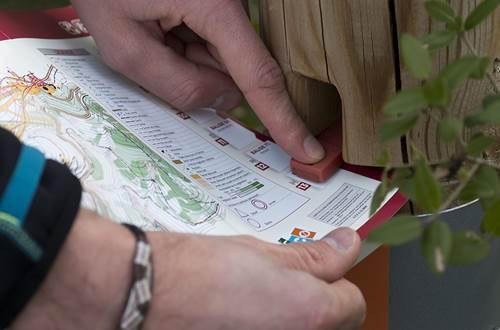 Course d'orientation à Méjannes le Clap dans le Gard ©