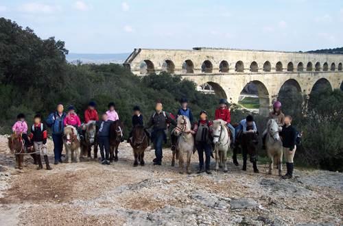 Centre equestre du Pont du Gard © Centre equestre