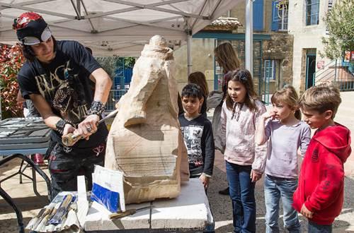 Office culturel de St-Quentin la Poterie - Journée des Métiers d'Art © Office culturel de St-Quentin la Poterie