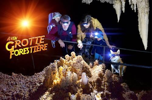 Aven Grotte de la Forestiere photo principale © Aven grotte de la Forestière