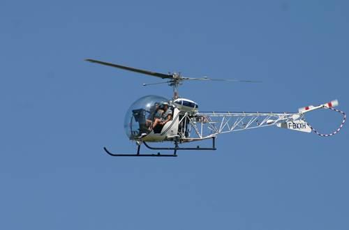 Cévennes hélicoptère - St Croix de Caderle ©