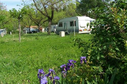 Camping municipal Garanel - Sommières ©