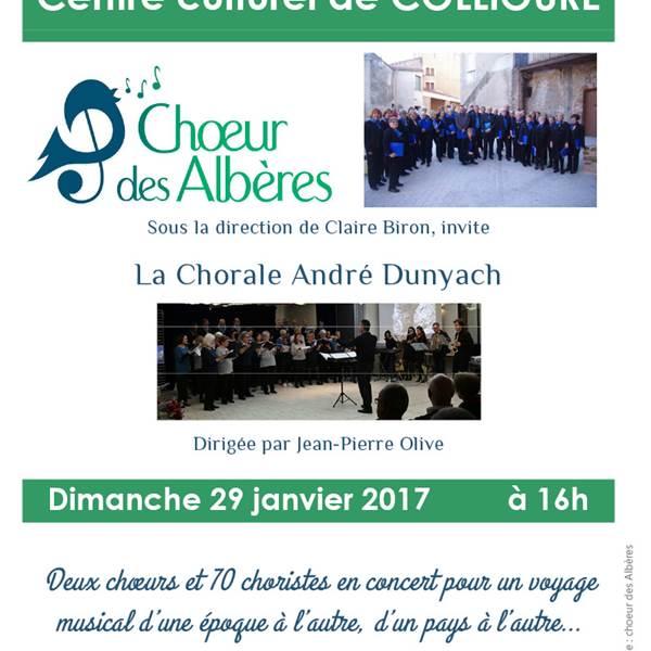 Concert Choeur des Albères