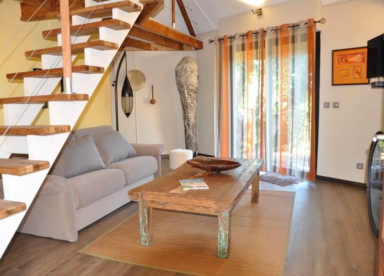 Lodge Terre de soleil - Bungalow Océanien