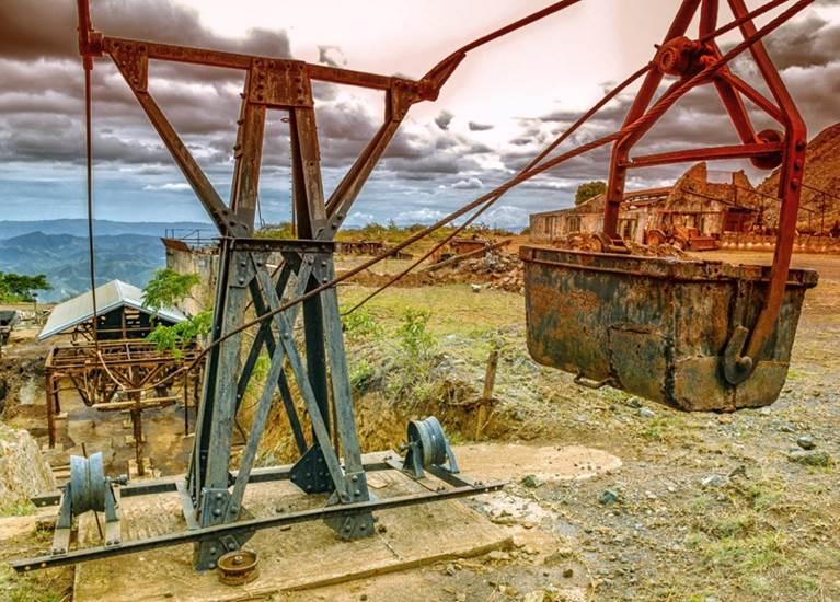 Mine de Thiébaghi