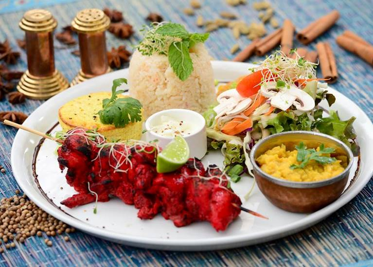 Plat Indian gourmet