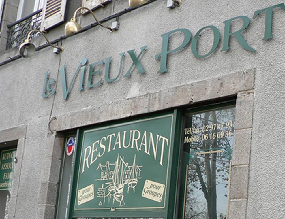 Restaurant-Le Vieux Port-Vannes-Golfe-du-Morbihan-Bretagne sud