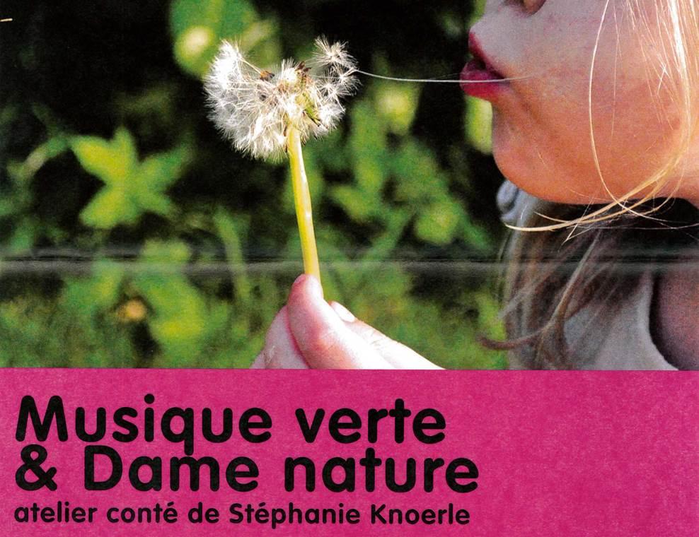 atelier conté-foire aux plantes-musique verte-dame nature-ile aux moines-golfe du morbihan-bretagne sud