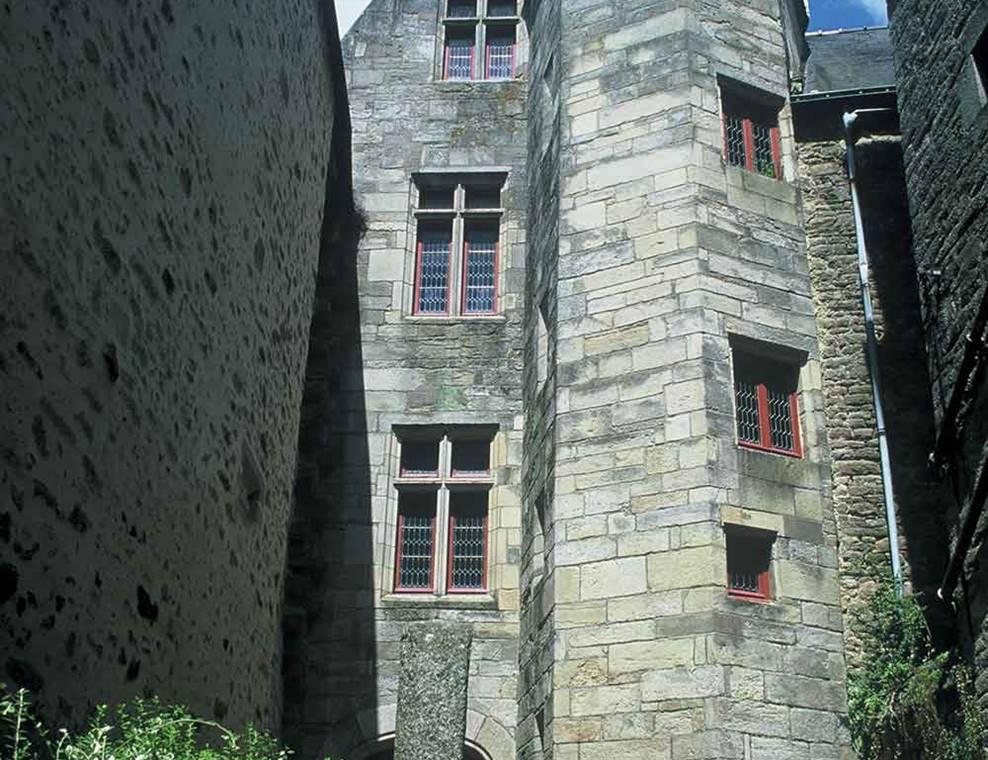 Musée Château Gaillard-Vannes-Golfe-du-Morbihan-Bretagne Sud