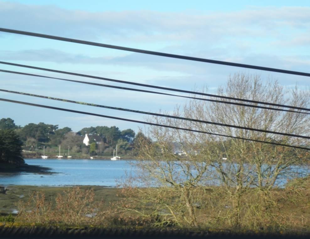 PEDRON Huguette - Maison Sarzeau vue - Morbihan Bretagne Sud