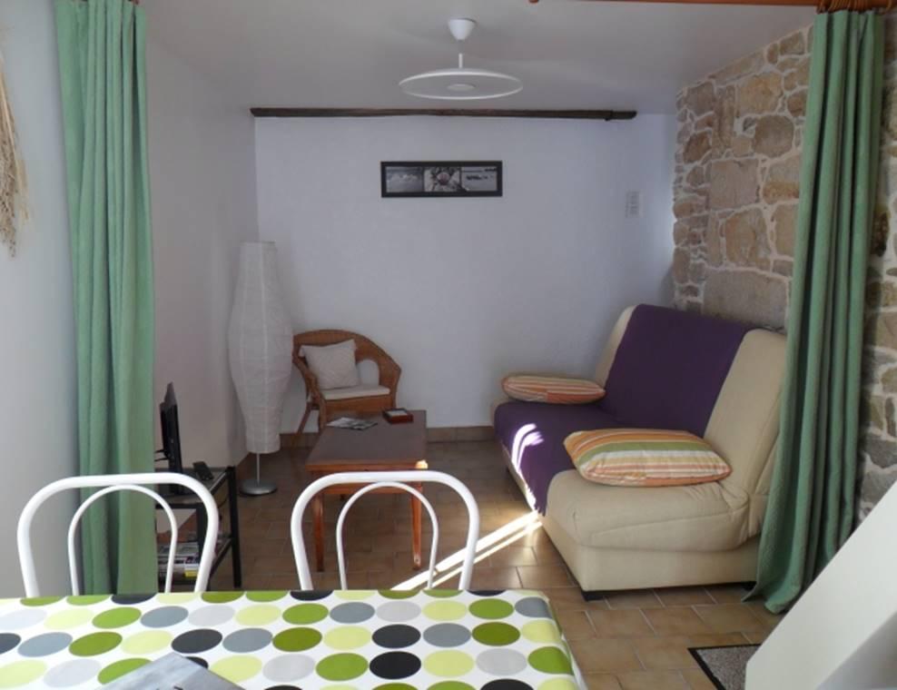 PEDRON Huguette - Maison Sarzeau salon - Morbihan Bretagne Sud