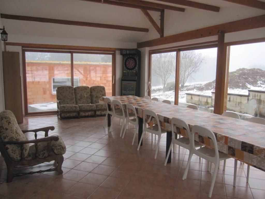 Gîte Lauberoye : veranda